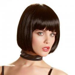 Pruik zwart haar