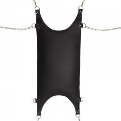 Leren sling met 8 D-ringen