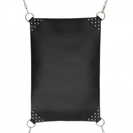 Leren sling met verstevigde hoeken