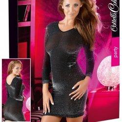 Zwart jurkje met glitters