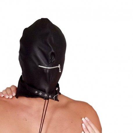 Leren heren masker