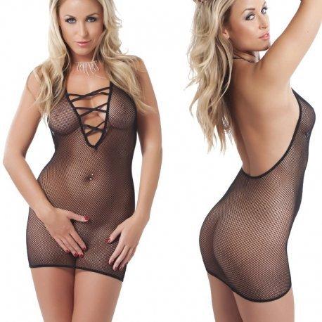 Mouwloos elastisch jurkje