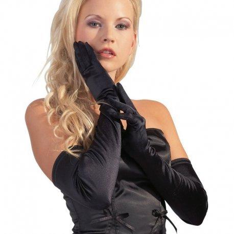 Zwarte Opera Gloves