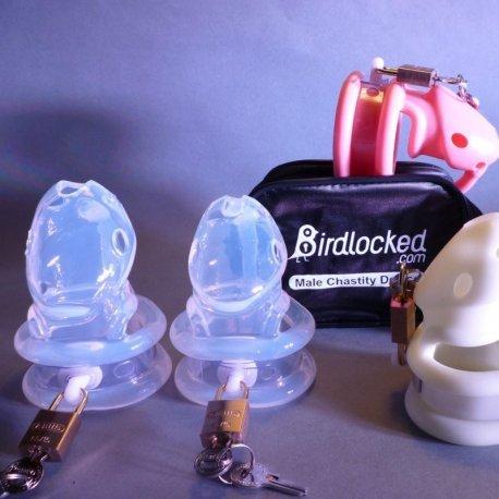 Birdlock transparant