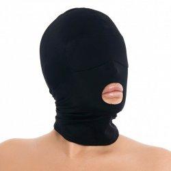 Spandex masker met open mond
