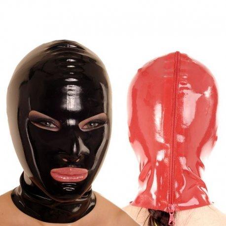 Latex masker met kleine mond