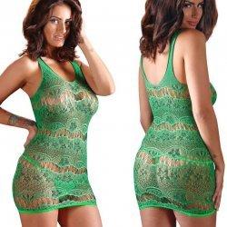 Groen elastisch clubwear jurkje